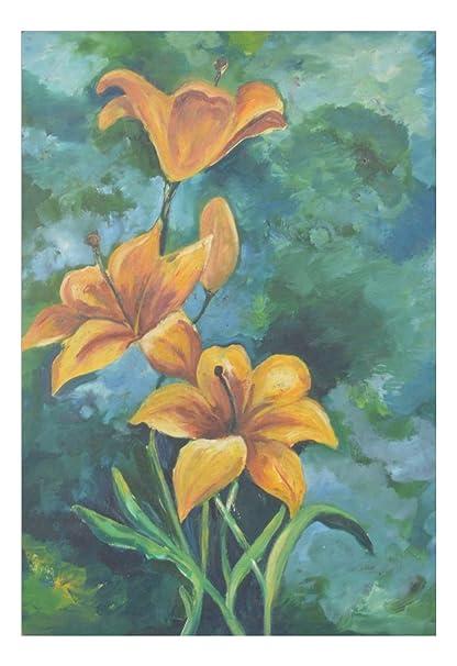 chitrakala art flower painting paper 35 cm x 30 cm x 3 cm amazon