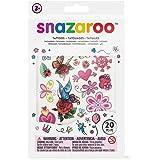 Snazaroo - Set de tatuajes temporales para chicas