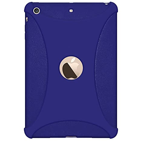 Amzer Silicone Jelly Skin Fit Case Cover for iPad Mini 3, Blue  AMZ97464  Bags,Cases   Sleeves