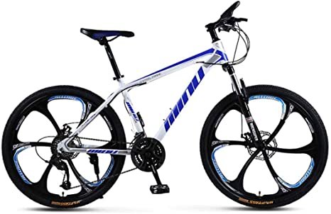Bicicleta De Montaña para Adultos 26 Pulgadas Marco De Acero Al ...