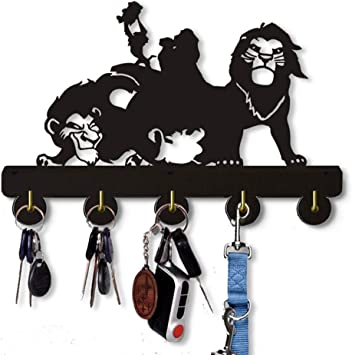Steel Images Monkey 5 Key Hook Coat//Key Hanger