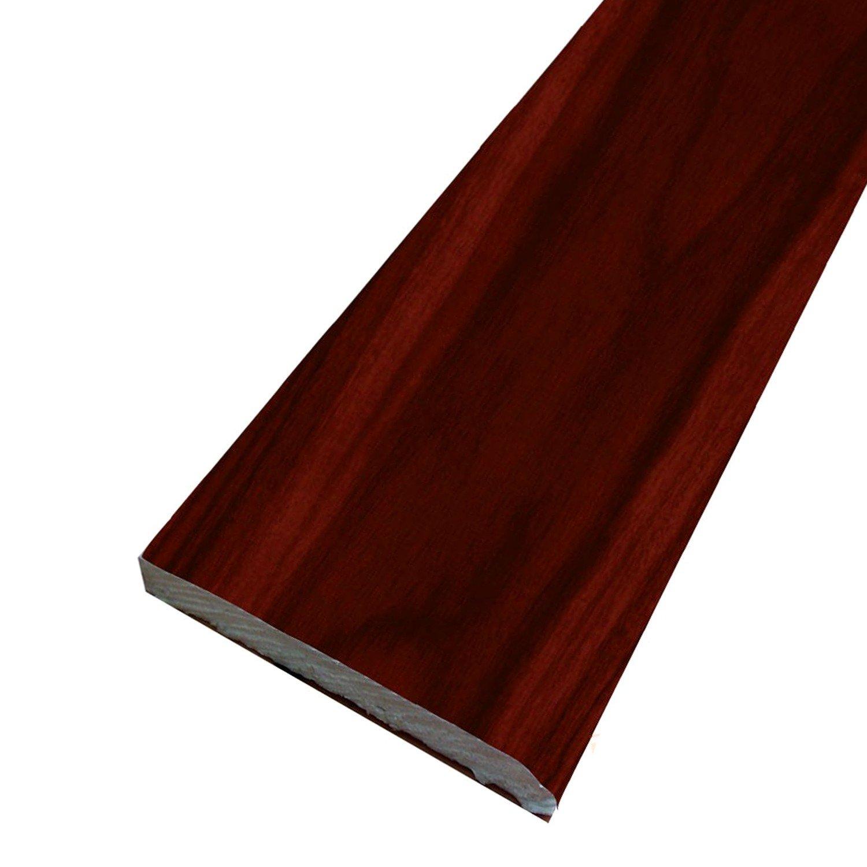 Window and Door Architrave Plastic Trim Rosewood 65mm - 5 Metre Transtools