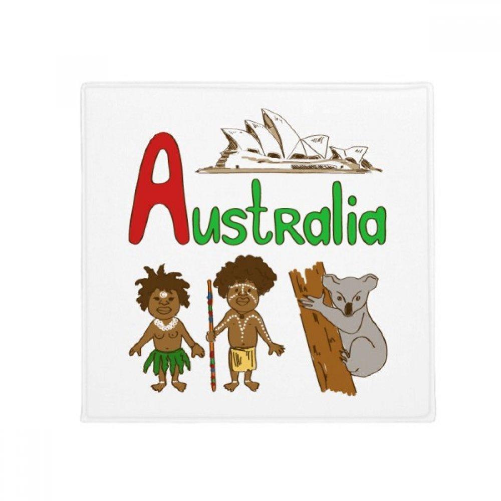 DIYthinker Australia National Symbol Landmark Pattern Anti-Slip Floor Pet Mat Square Home Kitchen Door 80Cm Gift