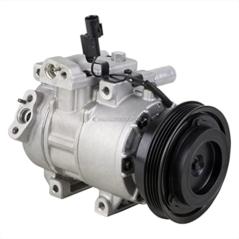 Amazon.com: OEM AC Compressor w/A/C Drier For Kia Rio Rio5 2006-2011 - BuyAutoParts 60-86524R4 NEW: Automotive