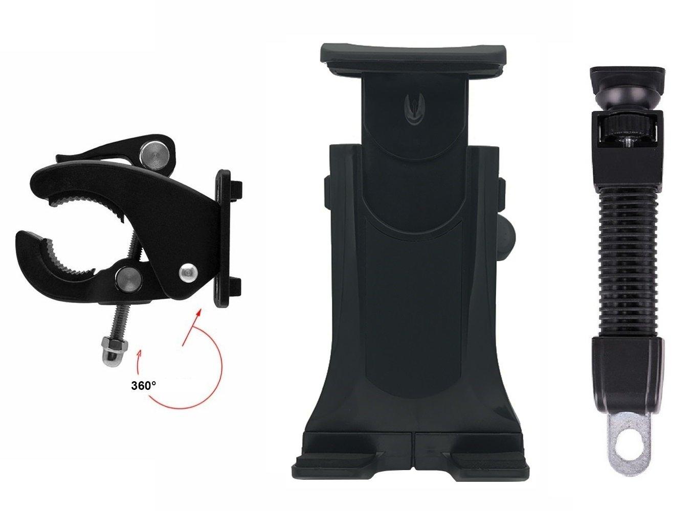 Soporte ipad bicicleta soporte ipad bicicleta estatica soporte ipad bici soporte ipad moto soporte moto ipad sujeción al manillar y espejo válido para todo ...