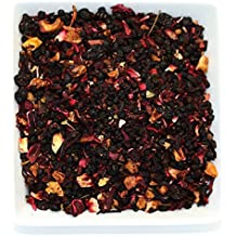 Tealyra - Grandma's Garden Berry - Fruit Tea Blend - Hibiscus and Berries Based Herbal Loose Leaf Tea - Vitamines Rich - Caffeine-Free - Hot and Iced Tea - 110g (4-ounce)