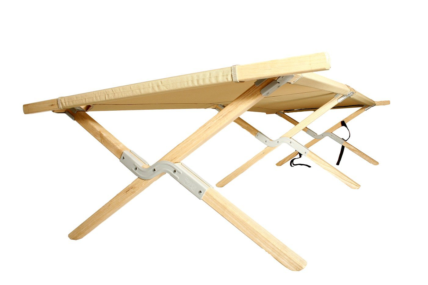 BYER OF MAINE Maine Heritage Cot Army cot Holds 375lbs Hardwood Frame Maine Heritage cot Extra Large Size
