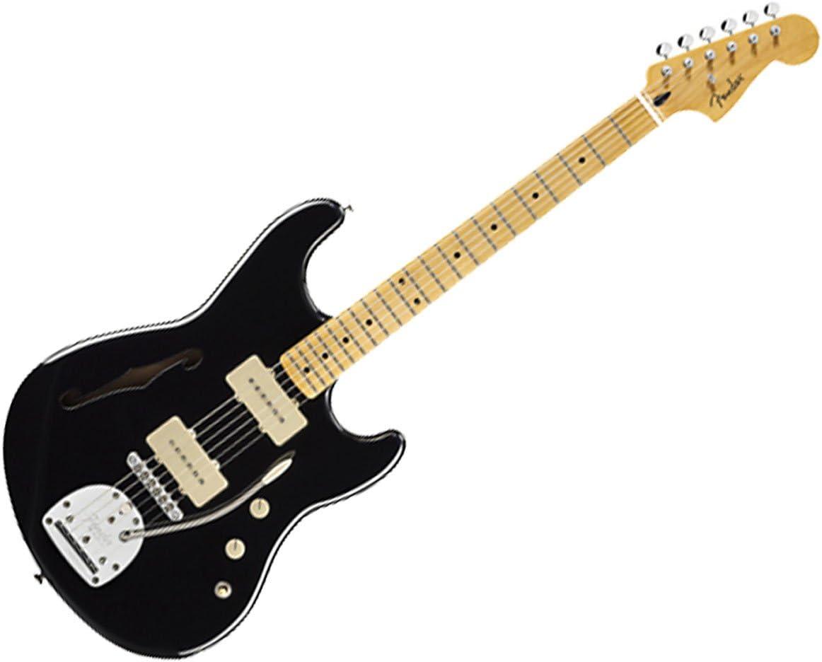 Fender Pawn Shop Offset especial MN BLK guitarra eléctrica ...