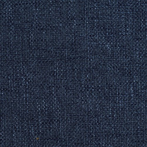 A789 Navy Blue Modern Woven Tweed Upholstery Fabric by The Yard