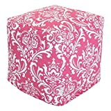 Majestic Home Goods Hot Pink and White French Quarter Cube, Small Review