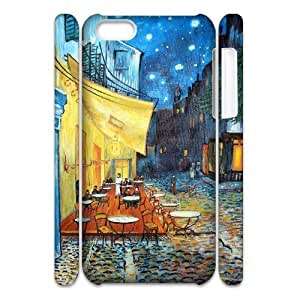 EZCASE Oil painting Phone Case For Iphone 4/4s [Pattern-1]