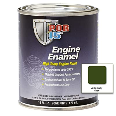 POR-15 42028 Austin Healey Green Engine Enamel - 1 pint: Automotive