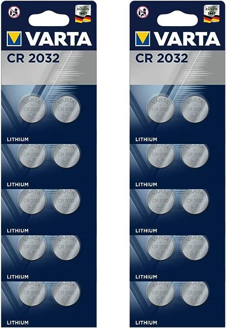 Varta Batterien Electronics Cr2032 Lithium Knopfzelle Elektronik