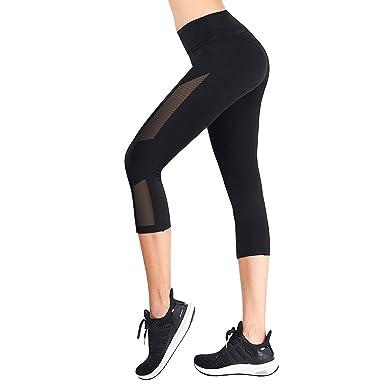 JEOutdoors Pantalones de Yoga Mujer Pantalones elásticos de ...
