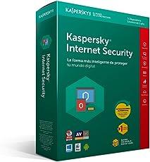 Kaspersky Internet Security 2018, Multidispositivos 5+1 Usuario, 1 Año