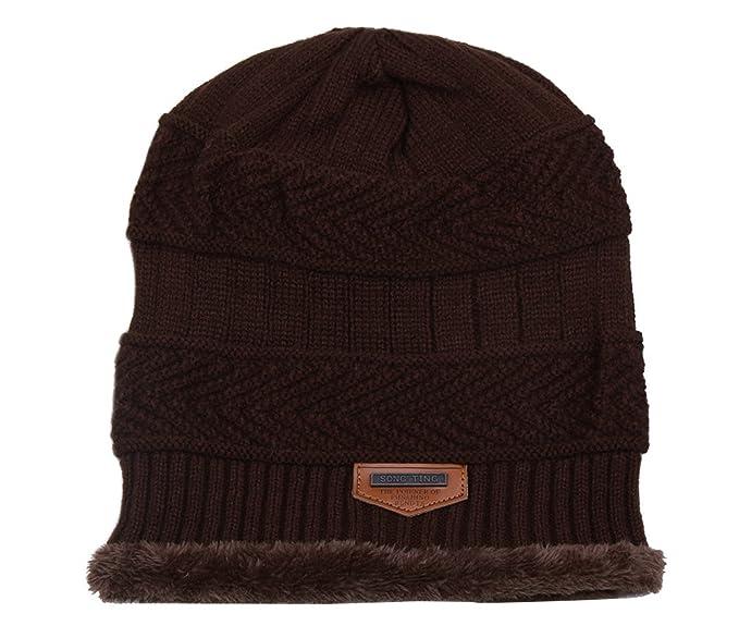 Genda 2Archer Cappello Beanie Uomo Berretto in maglia Di lana inverno  berretto (Caffè)  Amazon.it  Abbigliamento a3fa7bbbed56