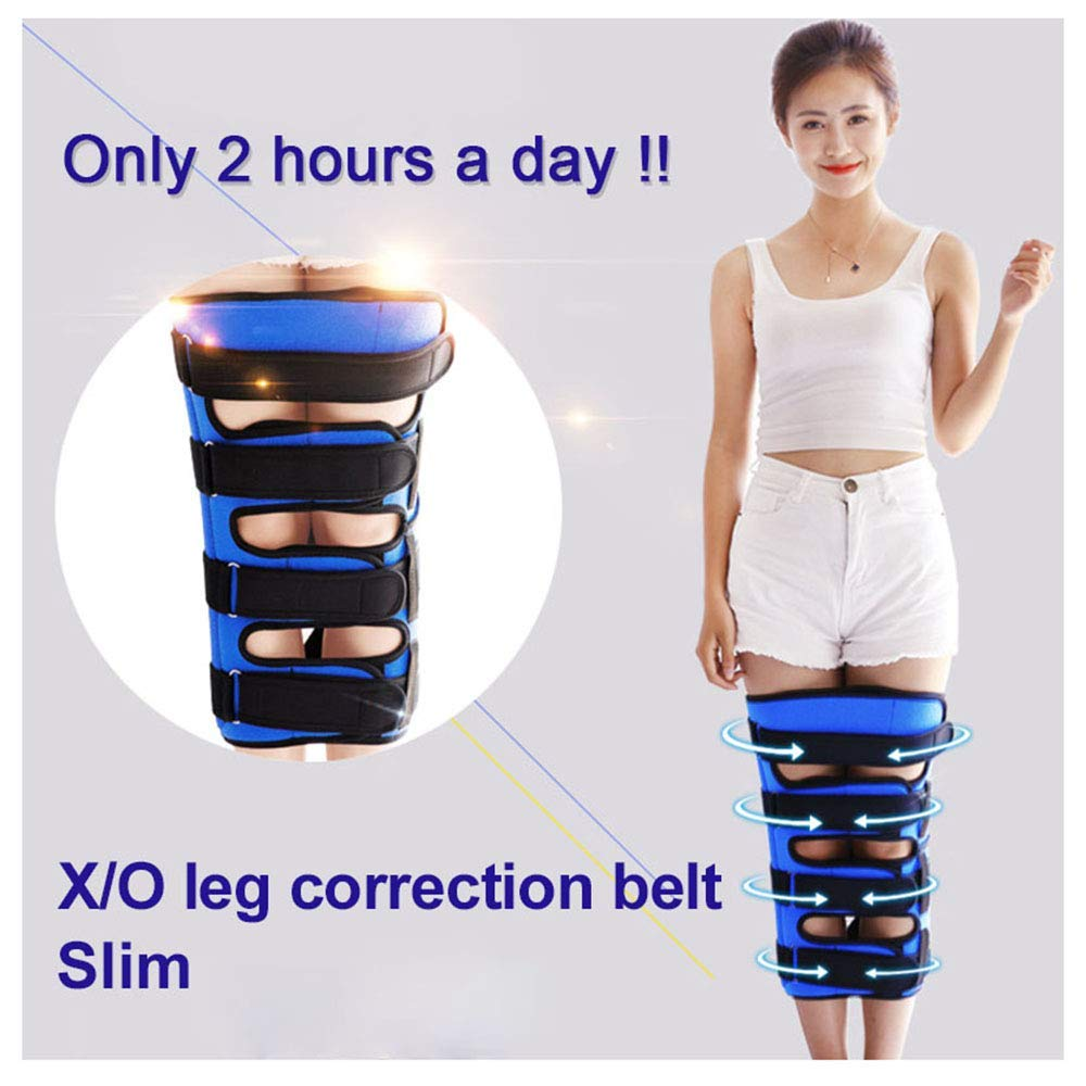 HAOHAODONGG Leg Correction Belt Type O/X Leg Bent Legs Knee Extension Adjustable Correction Belt Band Posture Correction Easy to use for Adult Children,m