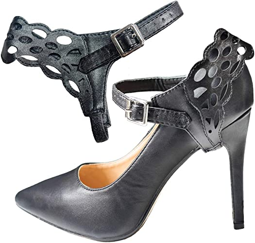 eliza may detachable shoe straps shoostraps to hold loose high heeled shoes, wedges and flats instagram high heels pinterest sergio rossi heeled pumps online