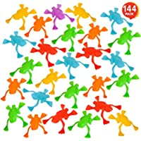 ArtCreativity Jump n Leap Frog Toys - Pack of 144 - Cool Jumping Frogs for Kids - Vibrant Color Variety - Fun Party…