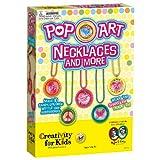 Creativity for Kids 1594007 Pop-Art Necklaces
