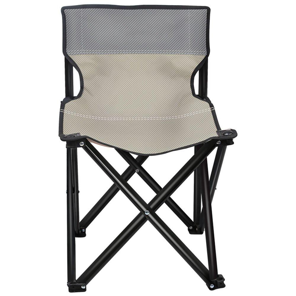 GHM Campingstuhl Tragbare Klappstuhl Outdoor Camping BBQ Angeln Strand Freizeit Stuhl