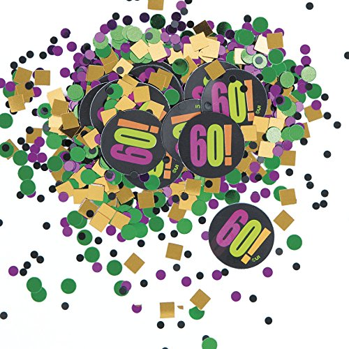 Birthday Cheer 60th Birthday Confetti