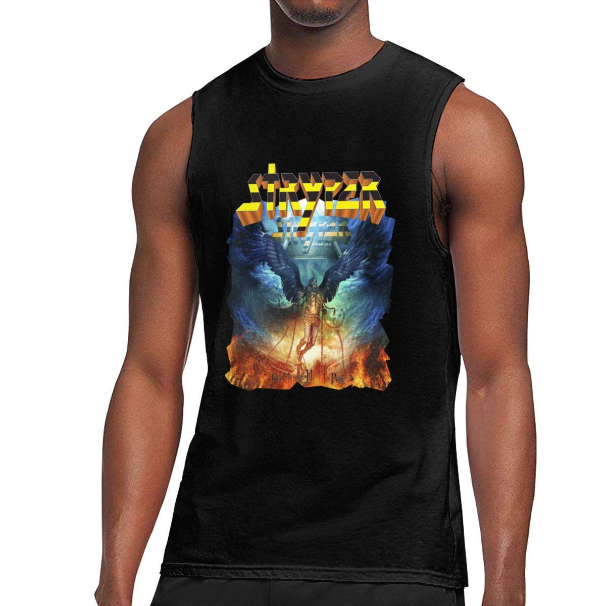 Seuriamin Stryper No More Hell To Pay S Basic Athletic Sleeveless Muscle Short Sleeve Ts S