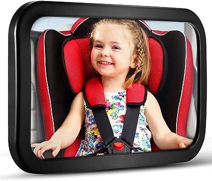 Baby Car Mirror, DARVIQS Car Seat - The Best Budget-Friendly Baby Car Mirror