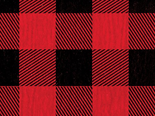 Buffalo Plaid Tissue Paper (240 Pack ) by Nas