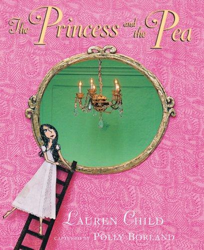The Princess and the Pea dollhouse miniature book
