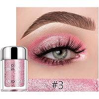 cae6961088a Kekailu Langmanni 6g 18 Colors Shiny Eyeshadow Powder Glitter Pigment Makeup  Cosmetic 3#