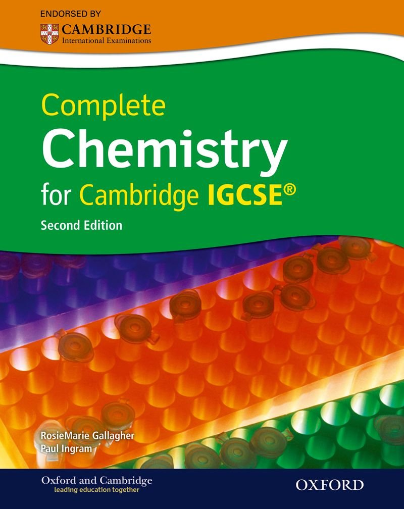 amazon com complete chemistry for cambridge igcserg with cd rom