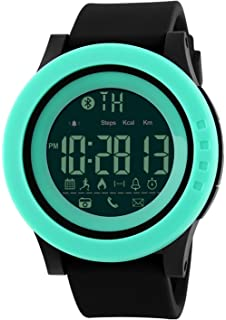 Mastop Smart Watch Pedometer Calories Bluetooth Clocks Waterproof Digital Outdoor Chronograph Sports Watches (Green)