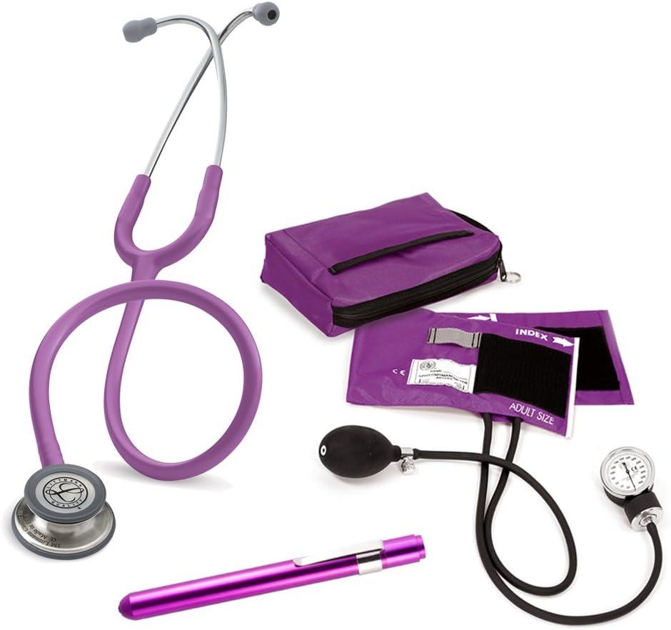 Set Enfermera Profesional + Grabado Personalizado (Morado)
