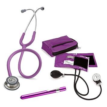 Set Enfermera Profesional + Grabado Personalizado (Morado): Amazon.es: Salud y cuidado personal