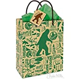 Archie Mcphee Big Foot All Occassion Small Gift Bag (7-1/2