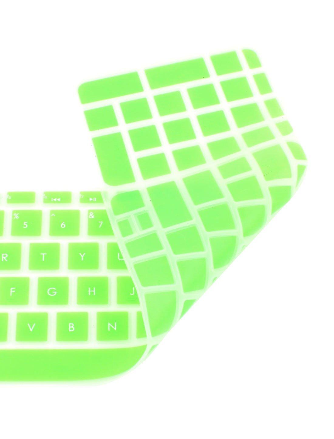 Amazon.com: eDealMax La cubierta del teclado de silicona Proteja Shell Verde Para HP Pabellón 15 del ordenador portátil: Electronics