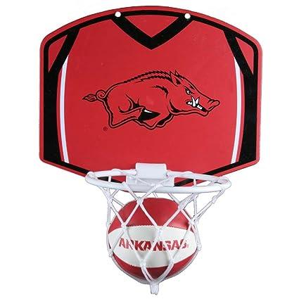 Amazon.com: Arkansas Razorbacks – Juego de mini baloncesto y ...