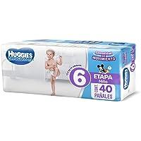 Huggies Ultraconfort, Pañal Desechable para Niño, Etapa 6, 40 piezas