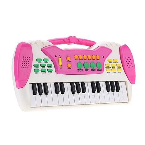 ammoon 10 32 teclas multifuncional Mini teclado electrónico Estimada juguete pädago gisches Caricatura Electone regalo