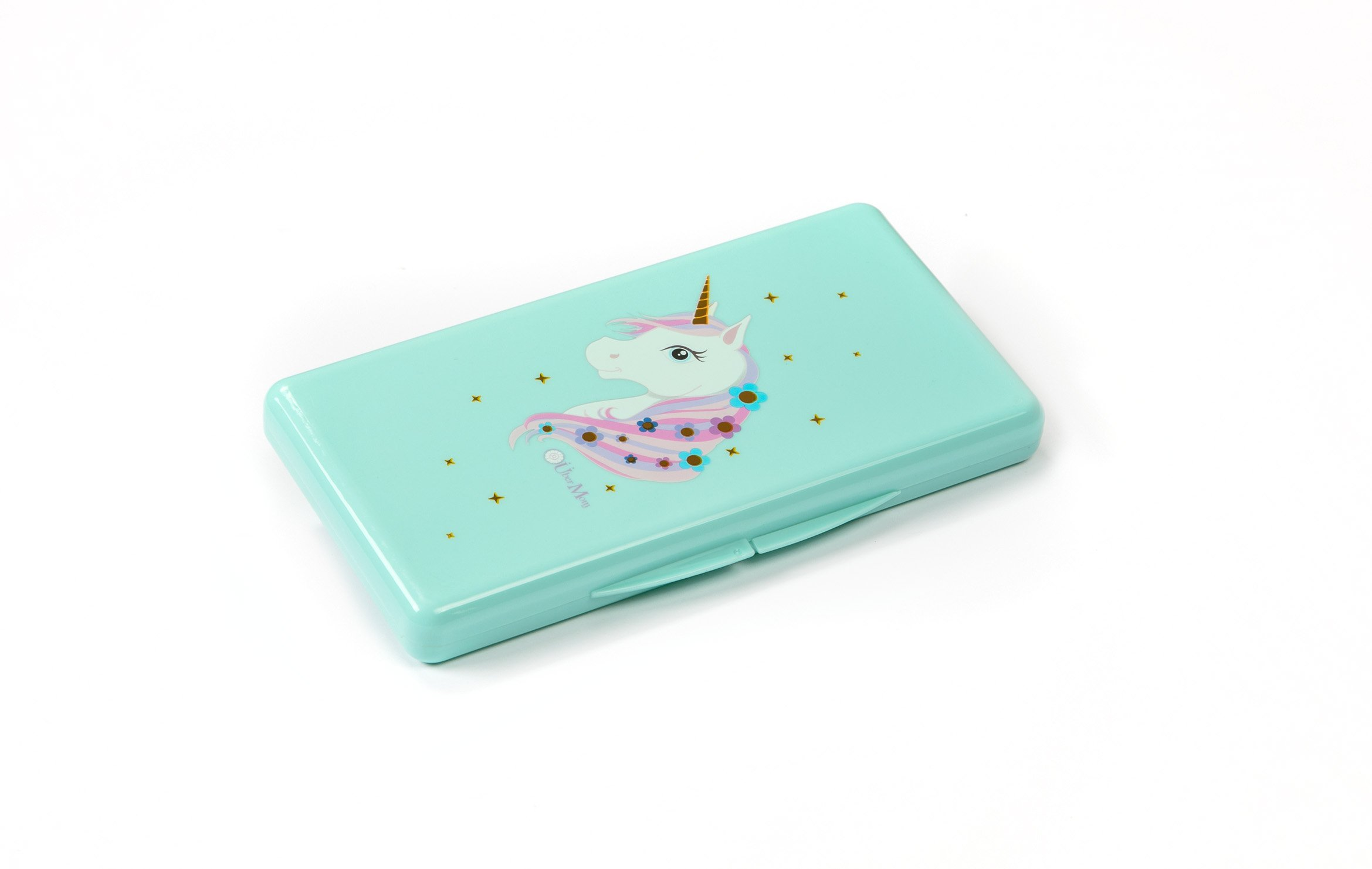 Wipebox by Über Mom , Teal Unicorn by Über Mom LLC