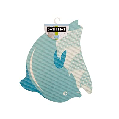 Kole Dolphin Bath Mat: Home & Kitchen