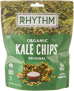 product image for Rhythm Superfoods Organic Kale Chips, Original, 2 oz, Packaging May Vary