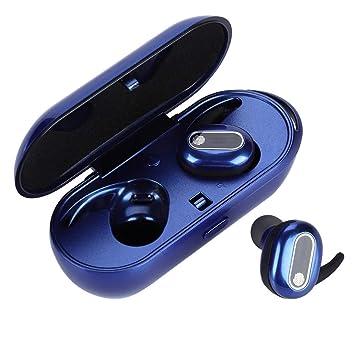 Mini Auriculares Bluetooth inalámbricos, Auriculares Sport TWS In-Ear con Caja de Carga, Touch Control, para iPhone, Samsung, Huawei, etc.: Amazon.es: Electrónica