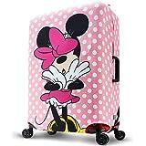 ディズニー DISNEY MINNIE ミニー キュート スーツケースカバー キャリーバッグカバー 保護カバー キャラクター Mサイズ ミニーマウス 旅行用品 ピンク