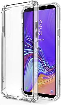 ZhuoFan Coque Samsung Galaxy A7 2017 Cárcasa Silicona Transparente ...