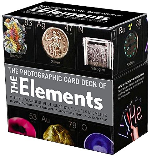 The Photographic Card Deck of the Elements: With Big Beautiful Photographs of All 118 Elements in the Periodic Table ()