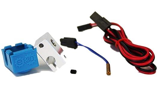 E3D V6.1 Block & Sock - Kit de actualización de impresora 3D para ...