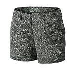 NIKE Printed 4.5in Golf Shorts 2017 Women Black/White 14