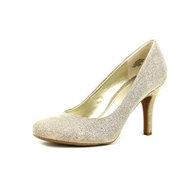 Kelly \u0026 Katie Isabel Women US 9 Gold Heels Amazon.co.uk